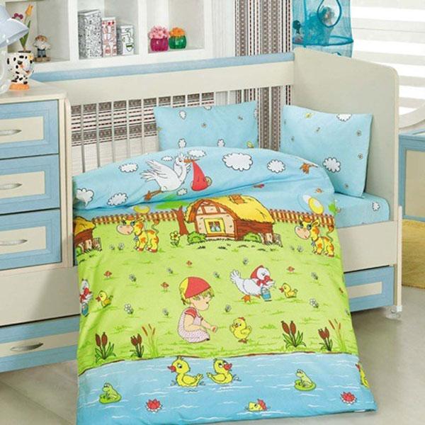 Lenjerie creaforce baby- bumbac 100% - Dream garden