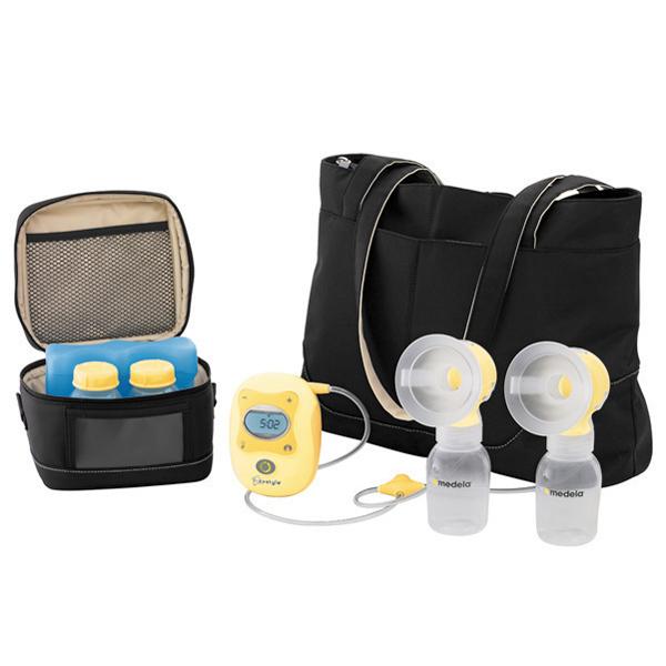 Pompa de san dubla electrica -Freestyle-bifazica, hands free+set calatorie