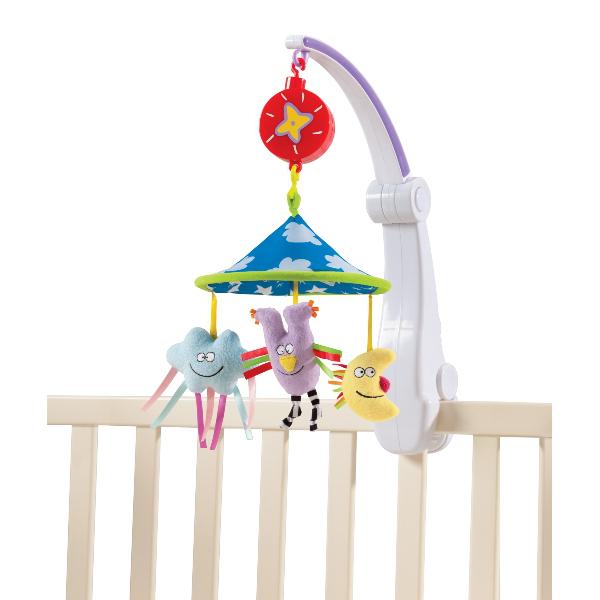 Carusel muzical pt patut pliabil - Calatorie placuta de la Taf Toys