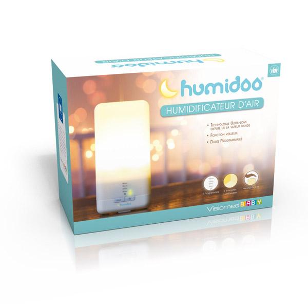 Umidificator ultrasonic cu lampa de veghe de la Visiomed