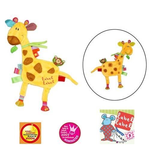 Minipaturica de somn si joaca Girafa de la LABEL LABEL