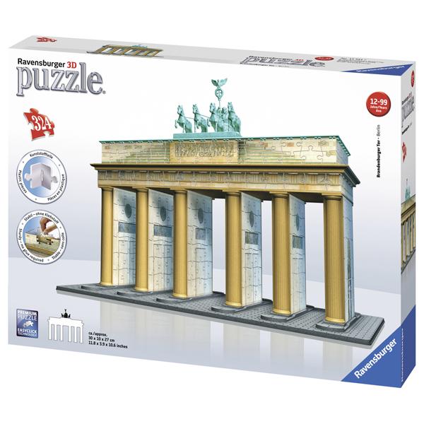 Puzzle 3D Poarta Branderburg, 324 piese