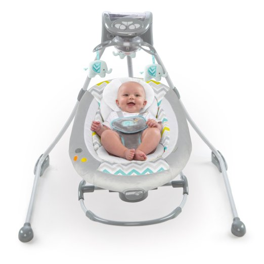 InGenuity - Leagan si Balansoar 3 in 1 Cradling Swing- Avondale