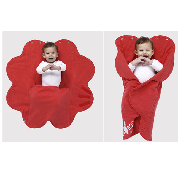 Paturica floare Soft Poppy red de la Wallaboo