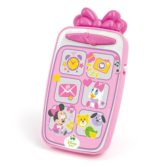 Smartphone Minnie Mouse de la CLEMENTONI Baby