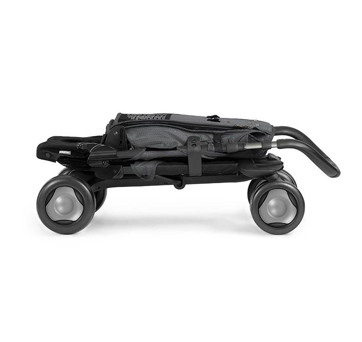 Carucior Ultracompact Pepp Luxx Cu Bara De Protectie Graphite de la Nuna