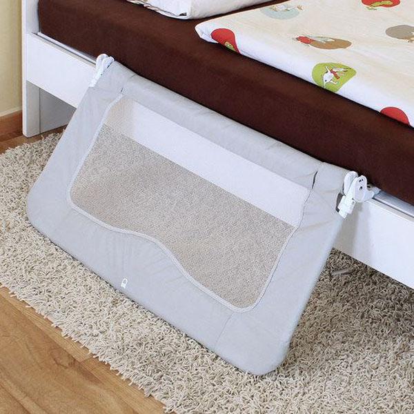 Bariera mobila de protectie pat pentru bebelusi ByMySide XL, 150 cm