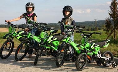 Kids bike KAWASAKI Dirt 16