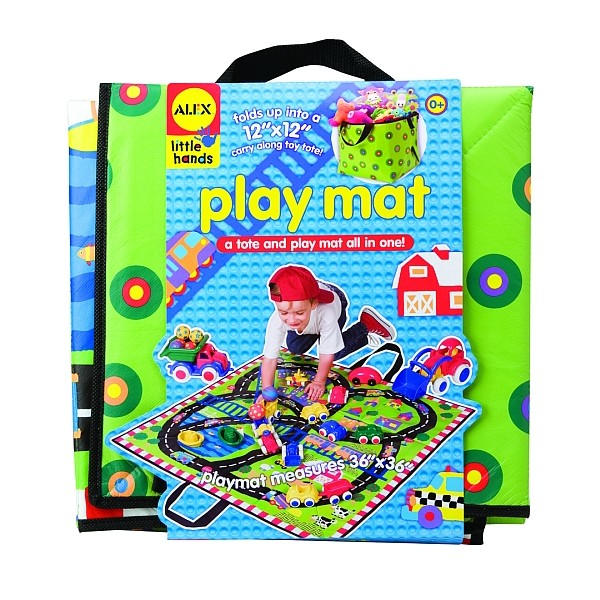 Covoras de joaca si cutie pentru jucarii