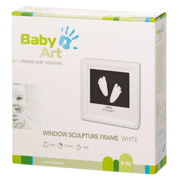 Rama Window Sculpture Frame White