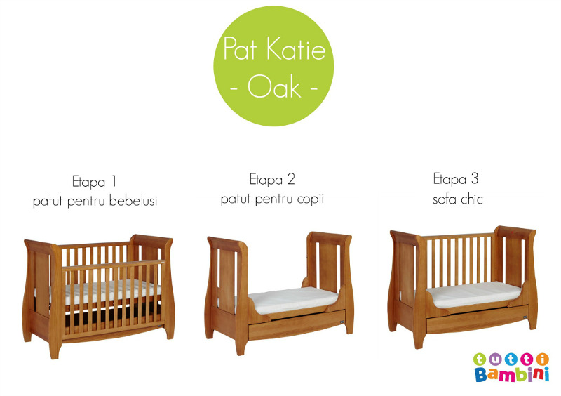 Patut evolutiv 3 in 1 Katie - Oak