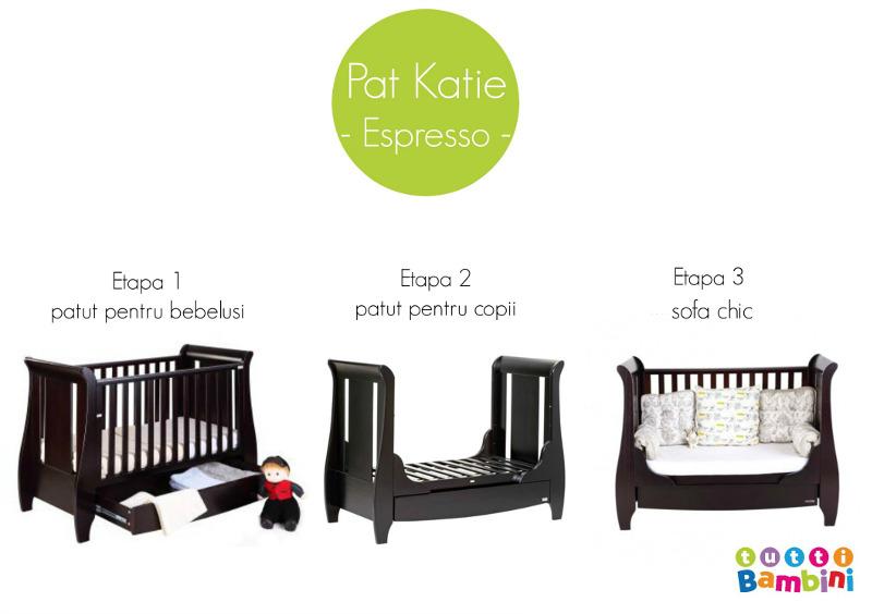 Patut evolutiv 3 in 1 Katie - Expresso
