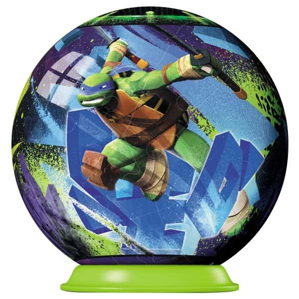 Puzzle  3D Testoasele Ninja, 54 piese