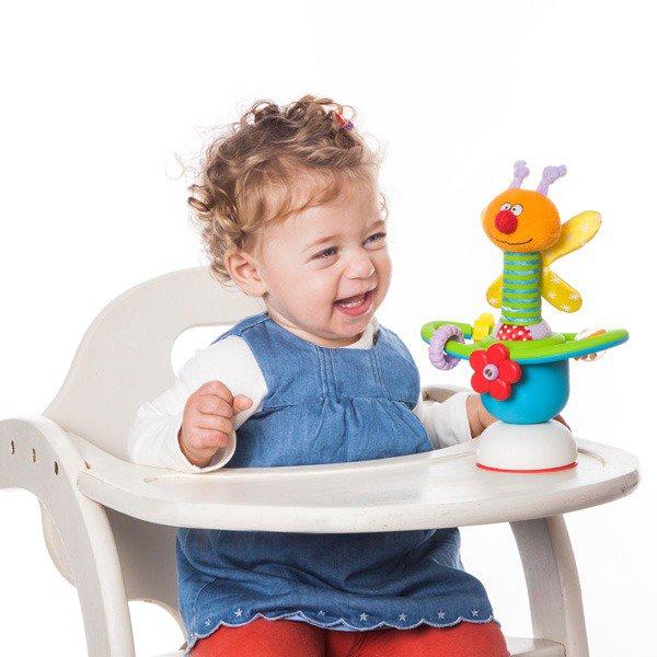 Jucarie pentru scaun de masa - Amicul rotitor