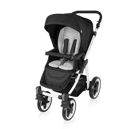Carucior Multifunctional 2 in 1 Lupo Comfort 10 Black 2016