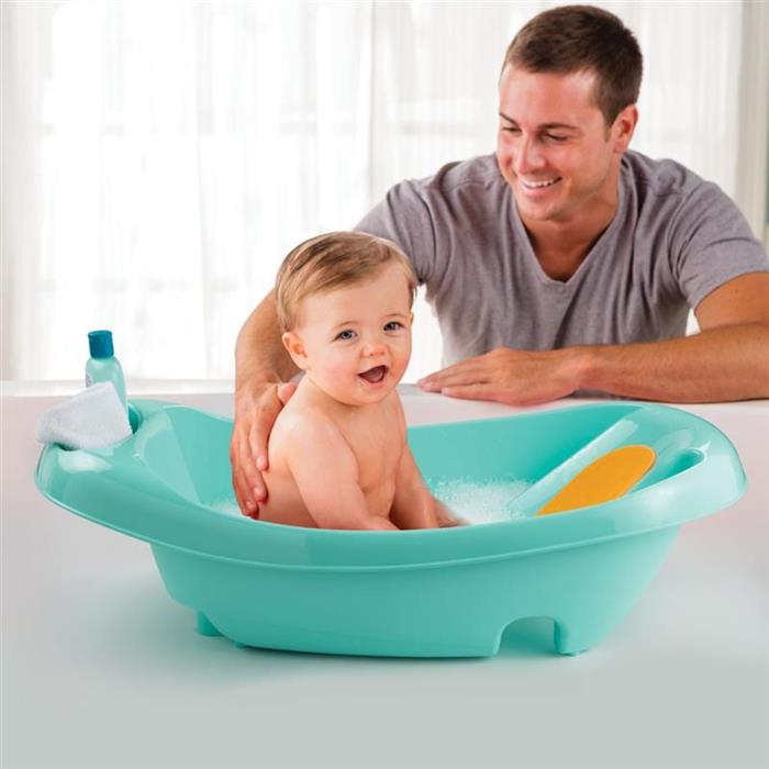 Cadita cu suport integrat My Fun Tub