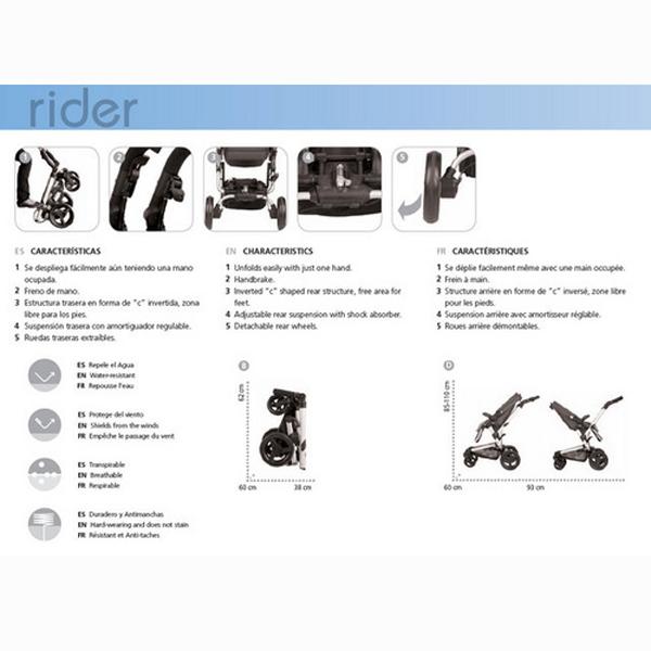 Carucior Sistem Rider Reverse Matrix Light