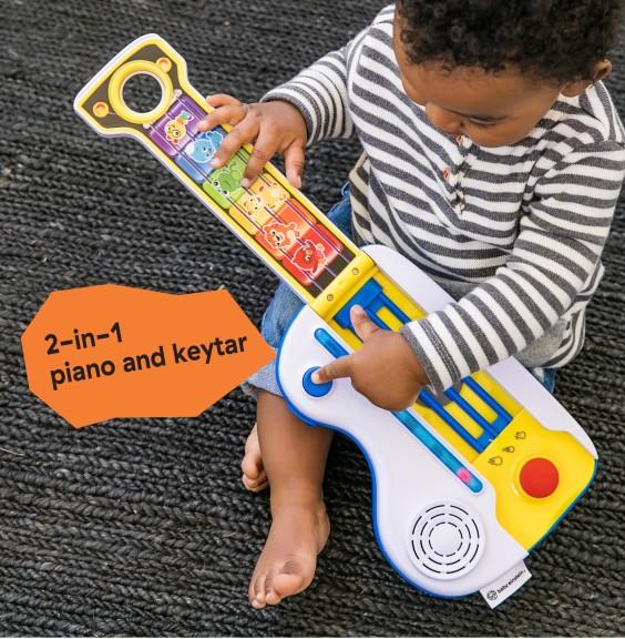 Jucarie muzicala 2 in 1 chitara si pian Flip&Riff Keytar