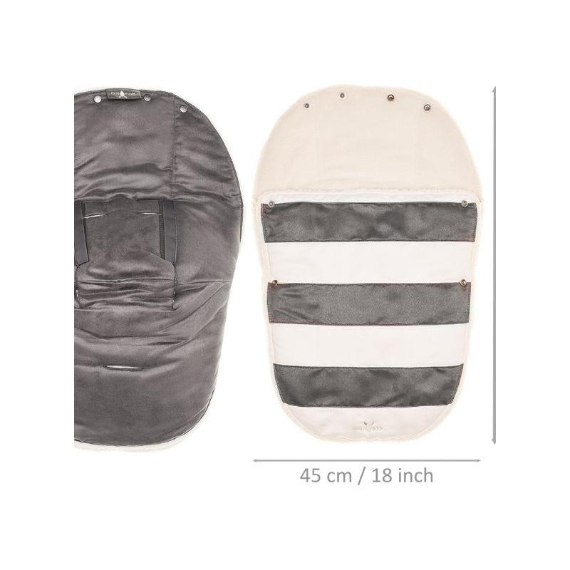 Port Bebe 0-12 luni Striped Silver